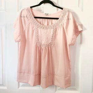 Daniel Rainn women's blouse peach large L